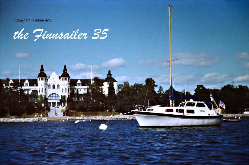 The Finnsailer 35 at the Royal Swedish Yacht Club near Stockholm