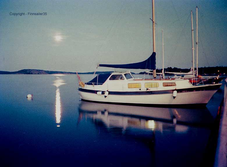 Finnsailer 35 Motorsailer - Moonlight -  Mariehamn Aland the Baltic