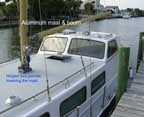 Pilothouse, Mast, Deck