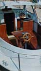 Finnsailer 35 Cockpit Table on Pedestal