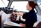 Finnsailer 35 - Pilothouse Wheel Station